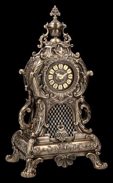 Imposing Baroque Fireplace Clock