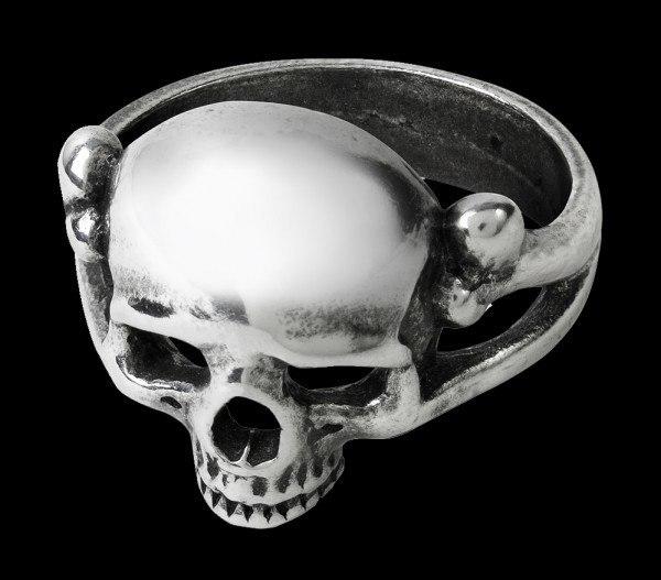 Alchemy Skull Ring - Memoria Mortalis