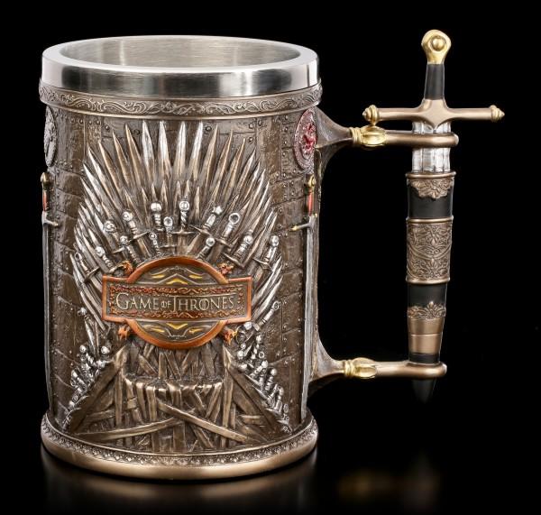 Game of Thrones Tankard - Iron Throne