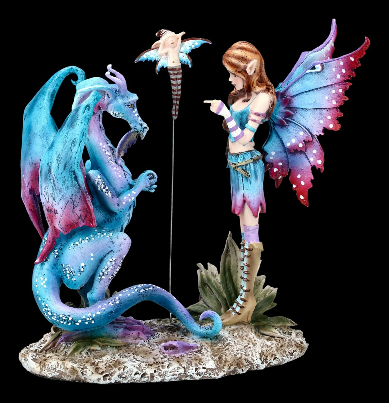 Fairy Figurine - Bad Dragon by Amy Brown