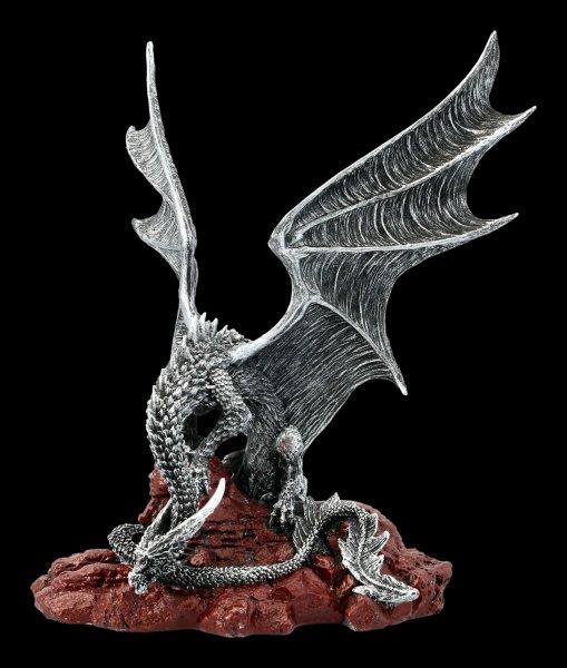 Drachen Figur - Khamseen Silver