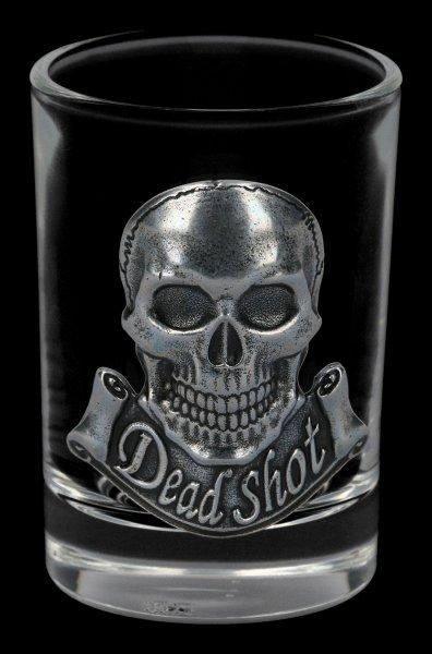 Shot Glass with Skull - Dead Shot