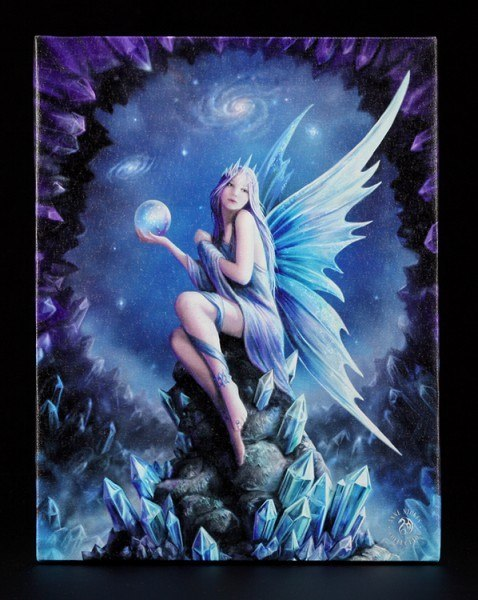 Small Canvas - Stargazer by Anne Stokes