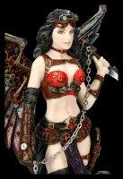Steampunk Figur - Dark Angel auf Grab