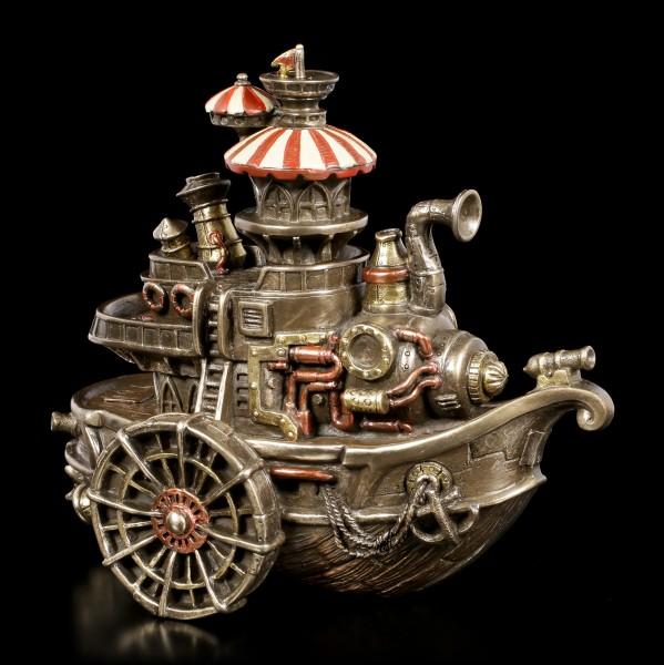 Steampunk Figurine - Steamboat