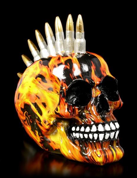 Totenkopf mit Patronen Iro - Inferno Bullet
