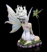 Fairy Figurine - Velda kneeling with Dragon