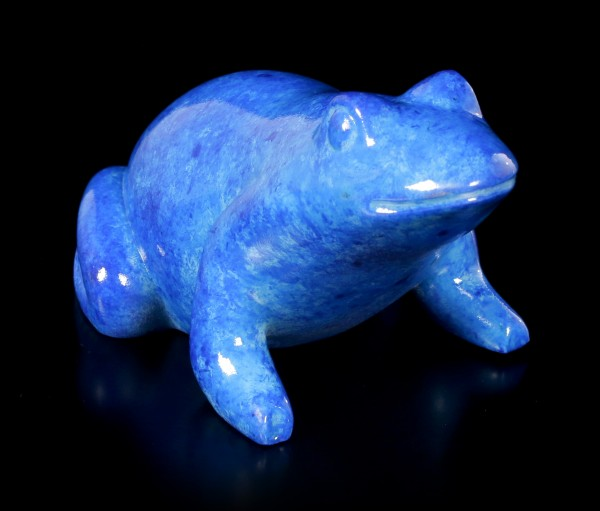 Ancient Egyptian Figurine - Blue Frog