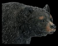 Black Bear Figurine - Walking
