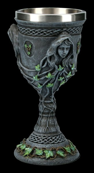 Trinity Goddess Goblet - Virgin, Mother & Crone