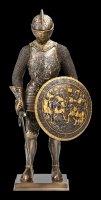 Ritter Figur - Mit Rundschild und Schwert