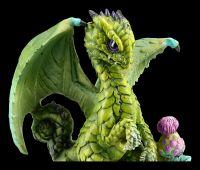 Dragon Figurine - Artichoke by Stanley Morrison