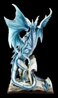 Dragon Figurine - The Bookkeeper with a Student