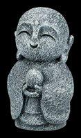 Smiling Jizo Monk Figurine - Kshitigarbha