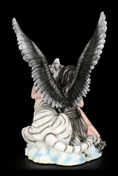Engel Figur - Liberty mit Tiger