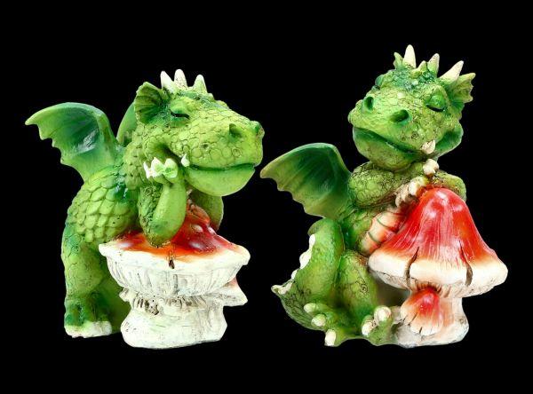 Süßes Drachenfiguren Set - Mittagsschläfchen