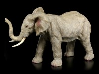 Elephant Figurine - Standing with raised Trunk