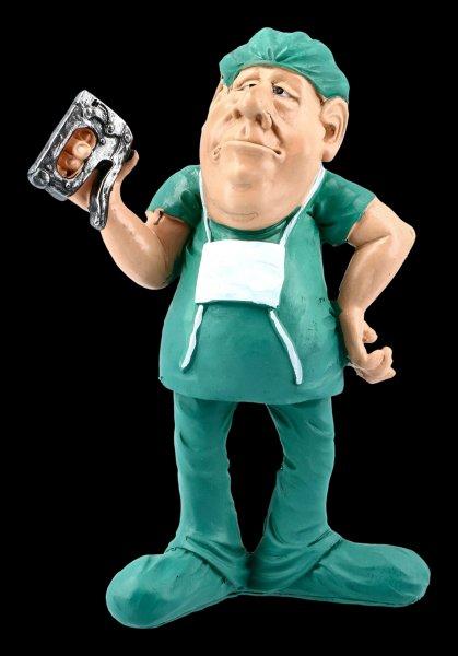Funny Jobs Figurine - Surgeon with Tacker