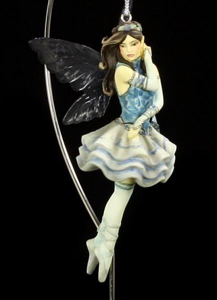 Dragonsite Elfen Figur - Blue Fantasy by Jessica Galbreth