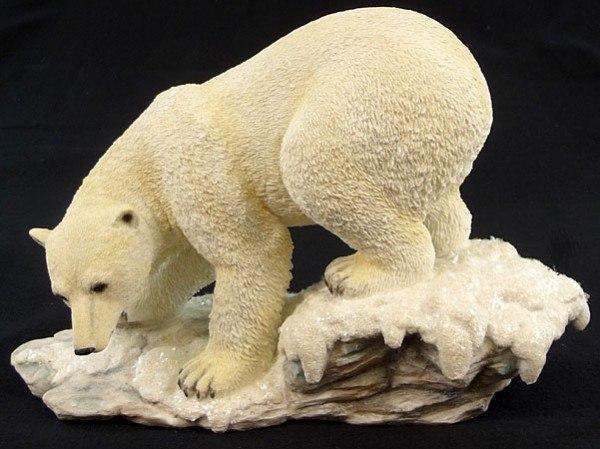 Eisbär Figur
