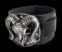 Gears Of Aiwass - Alchemy Leather Wriststrap