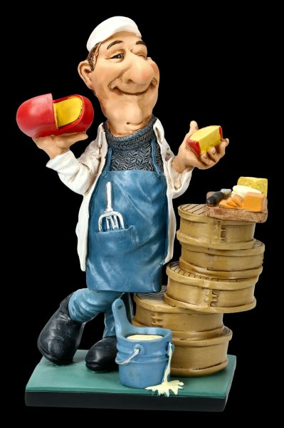 Funny Job Figurine - Cheese Maker