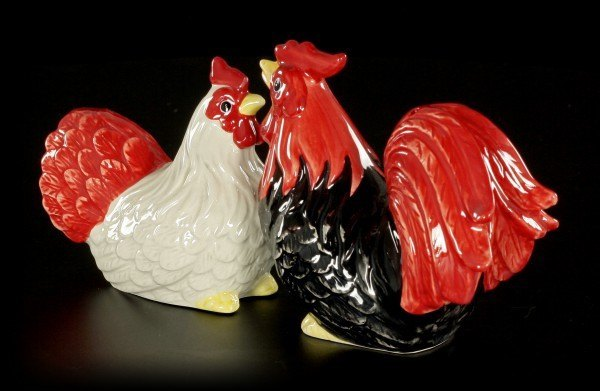 Cock and Chicken - Salt and Pepper