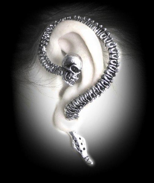 Alchemy Gothic Earring - Necacrosome