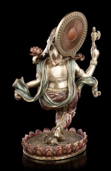 Ganesha Figur tanzend - Indischer Elefantengott