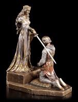 Ritterschlag Figur - The Accolade nach Edmund Blair Leighton