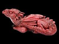 Dragon Figurine - Ruby Dreaming