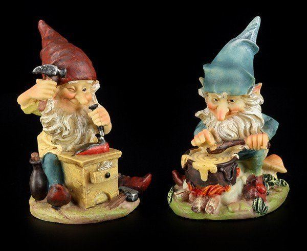 Garden Gnomes - Shoemaker and Cook