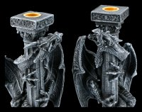 Dragon Candlestick - Set of Two