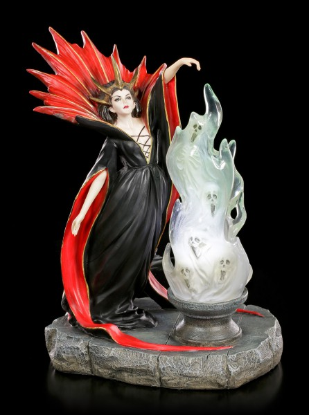 Witch Figurine - Damnation Summons Ghosts LED