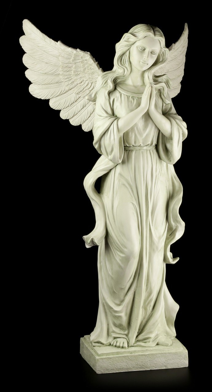 Gartenfigur - Engel betend
