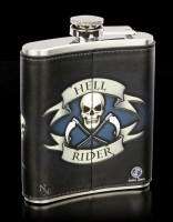 Flachmann mit Reaper - Hell Rider