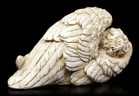 Angel Figurine - Baby wrapped in Wings