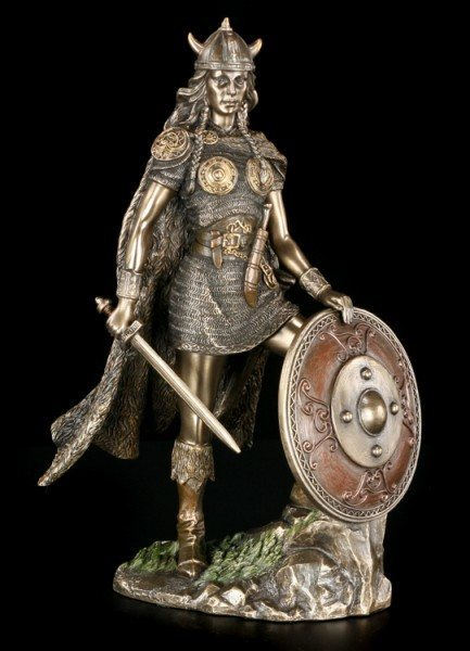 Germanic Warrior Figurine - Valkyrie