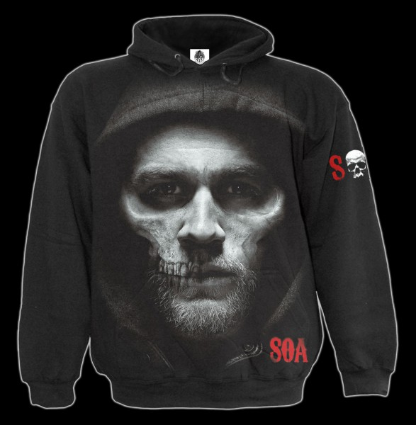 Jax Skull Hoody - Sons of Anarchy
