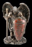 Ritter Engel Figur - Der Herr sei gepriesen