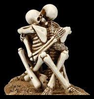 Skeleton Figurine - Love Never Dies - Stay here