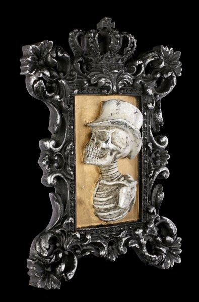 Wandbild Skelett - Monsieur Portrait