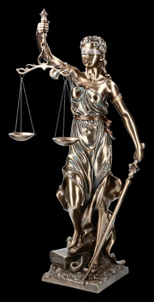 Large Lady Justice Statue