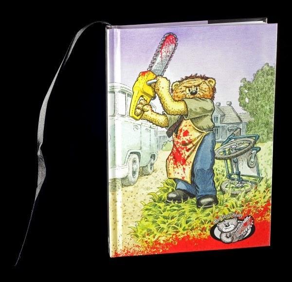 Hardcover Notizbuch - Bad Taste Bears - Stitch