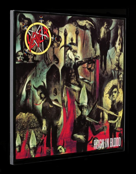 Slayer Crystal Clear Picture - Reign in Blood