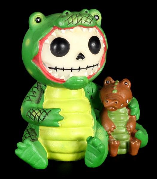 Crocodile Chompsy - Furry Bones Figurine
