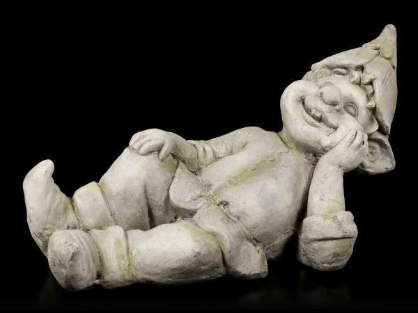 Troll Gartenfigur - Träumend