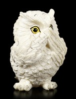 Snow Owl Figurines - The Three Wise - large