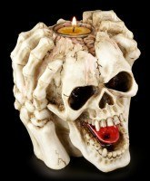 Skull Tealight Holder - Horrible Headache