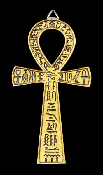 Wall Plaque - Egyptian Ankh Cross